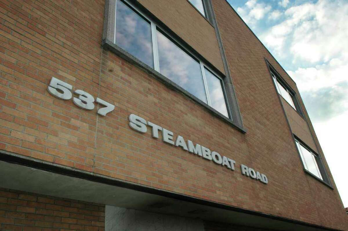 The building at 537 Steamboat Road in Greenwich, where Level Global Investors LP has an office on the fourth floor is shown on Monday, Nov. 22, 2010. The Federal Bureau raided the New York offices of Level Global in connection with a broader insider-trading probe on Nov. 22, 2010.
