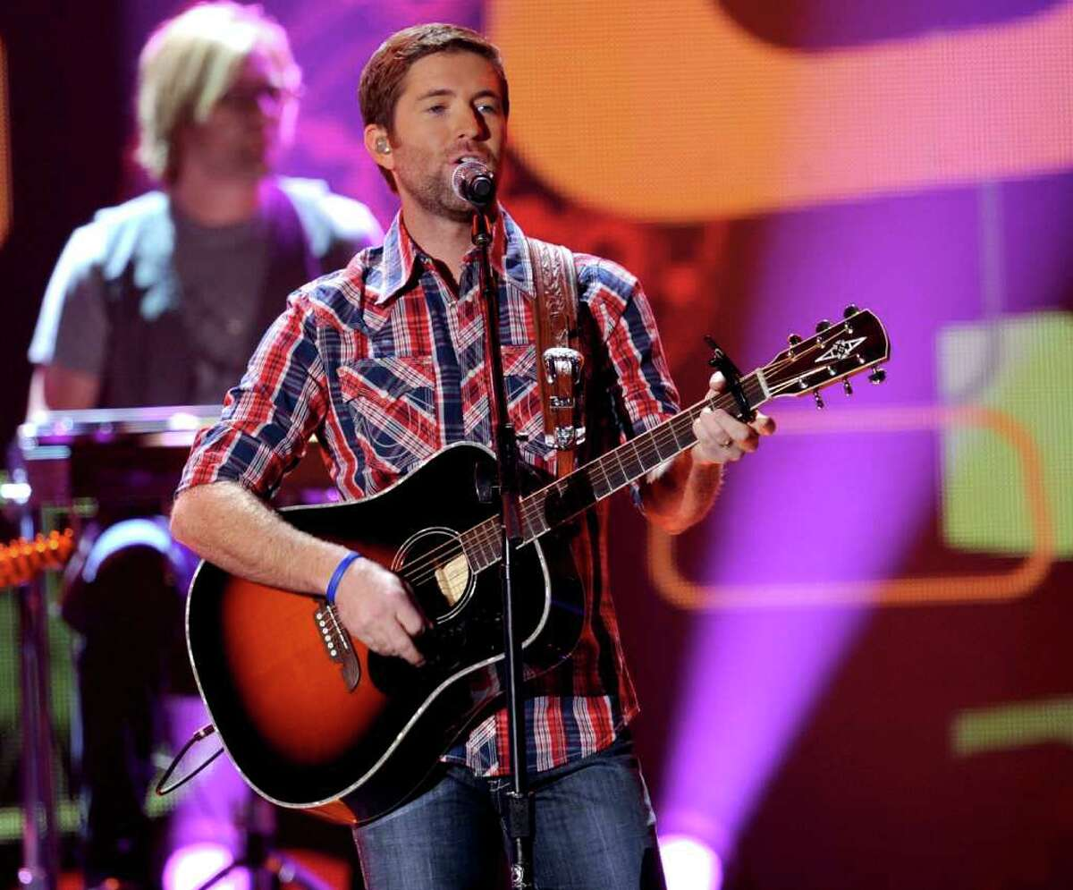 LAS VEGAS, NV - DECEMBER 06: Musician Josh Turner performs onstage during the American Country Awards 2010 held at the MGM Grand Garden Arena on December 6, 2010 in Las Vegas, Nevada. (Photo by Kevin Winter/Getty Images)