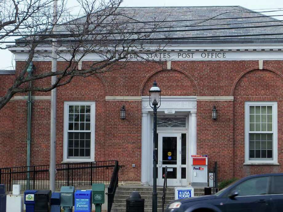 The Fairfield Post Office at 1262 Post Road is likely to be sold by the U.S. Postal Service, which plans to move to smaller quarters downtown. Photo: Contributed Photo/Genevieve Reilly, Contributed Photo / Fairfield Citizen contributed