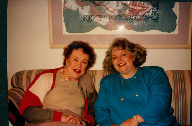Culinary icon Julia Child spent time with food editor Karen Haram in 1995 during the author/TV personality's visit here. COURTESY PHOTO