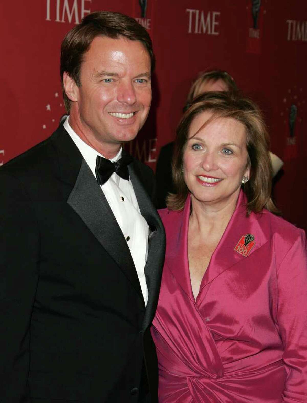NEW YORK - MAY 08: Senator John Edwards and Elizabeth Edwards attend the Time Magazine's celebration of the 100 most influential people on May 8, 2007 in New York City. (Photo by Peter Kramer/Getty Images) *** Local Caption *** John Edwards;Elizabeth Edwards