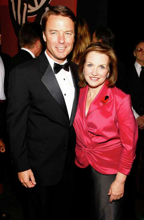 NEW YORK - MAY 8: (L-R) John Edwards and Elizabeth Edwards attend the cocktail party before the Time Magazine's 100 Most Influential People 2007 gala on May 8, 2007 in New York City.  (Photo by Mat Szwajkos/Getty Images) *** Local Caption *** John Edwards;Elizabeth Edwards Photo: Mat Szwajkos, Getty Images / 2007 Getty Images
