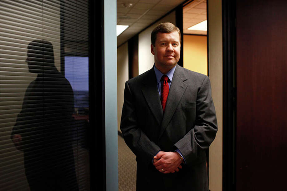 Burleson Cooke L.L.P., a Houston-based energy law firm, has hired Michael Browning to head its office here. Photo: Lisa Krantz/Express-News