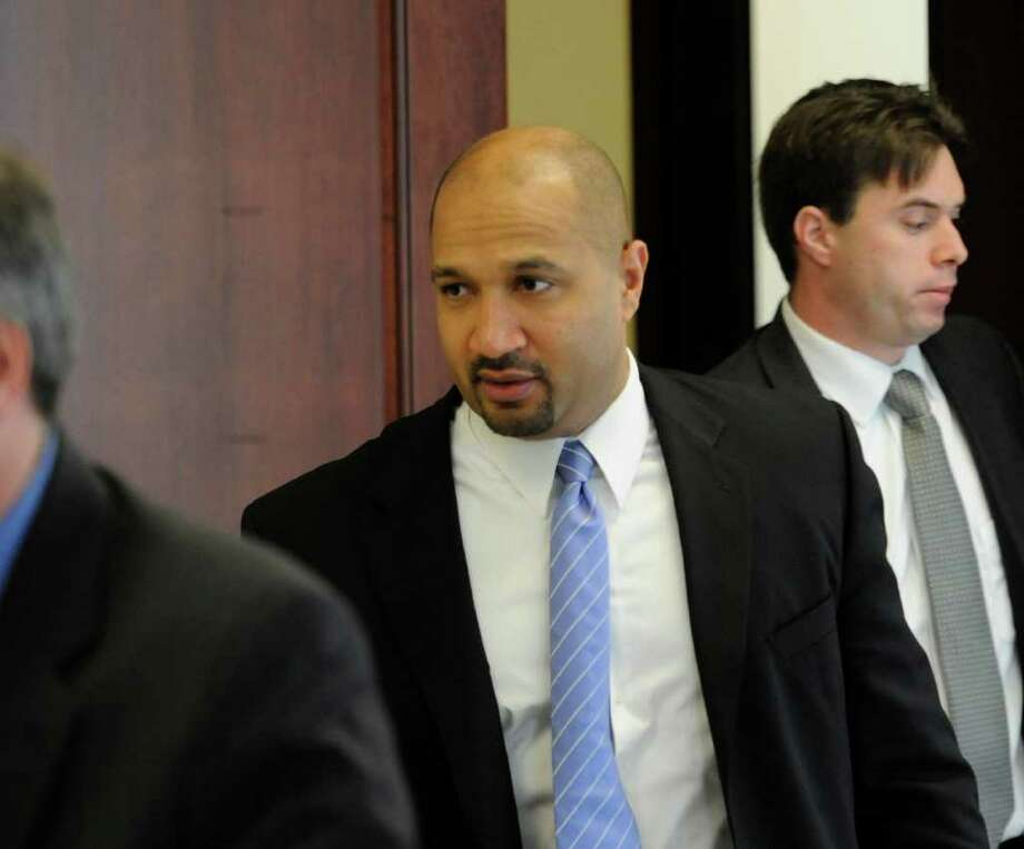 Albany County District David Soares leaves the courtroom in the Albany County Judicial Center in Albany Dec. 7, 2010, after opening statements in the Richard Bailey murder case. (Skip Dickstein / Times Union) Photo: SKIP DICKSTEIN / 2008