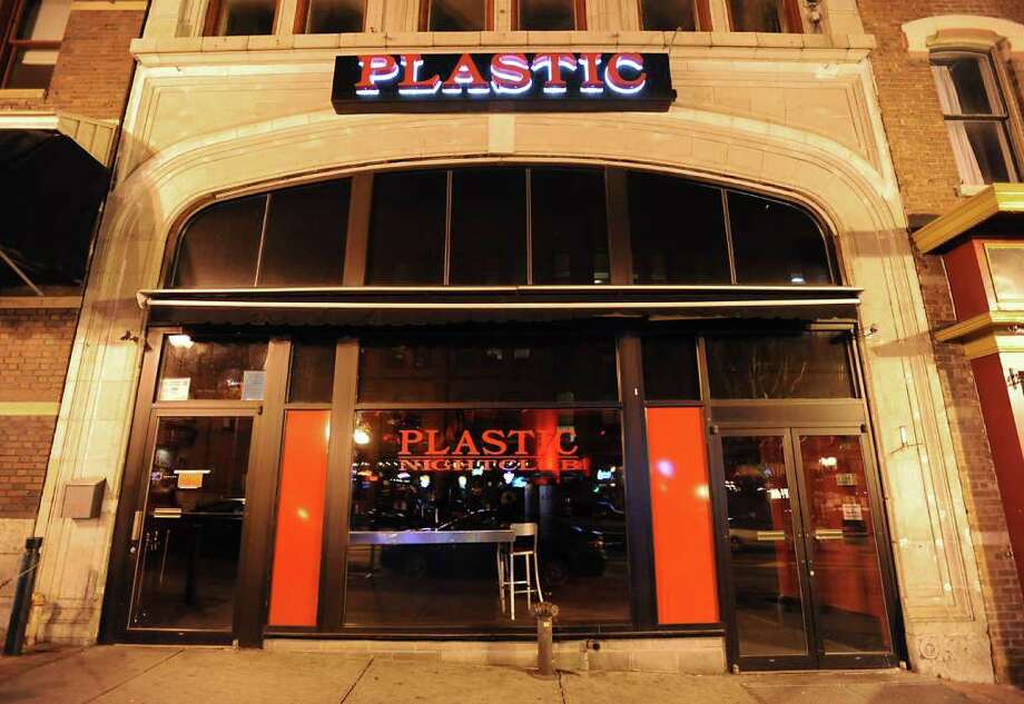 Plastic, on North Pearl Street in Albany. (Lori Van Buren / Times Union) Photo: Lori Van Buren