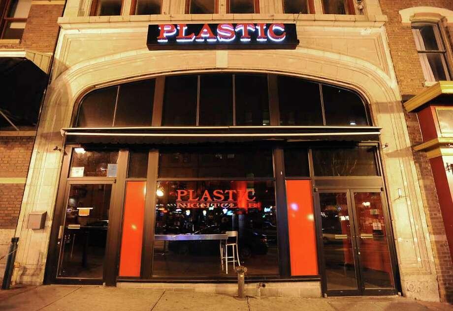 Plastic, on North Pearl Street in Albany. (Lori Van Buren / Times Union) Photo: Lori Van Buren