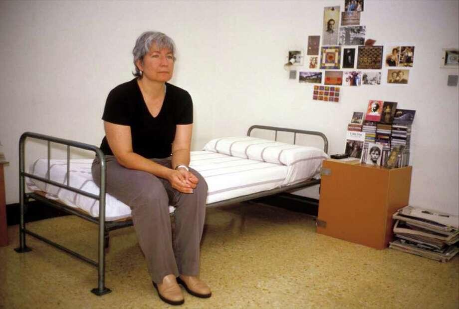 Silvia in Rebibbia prison, Rome, Italy, 2001(Stefano Montesi)