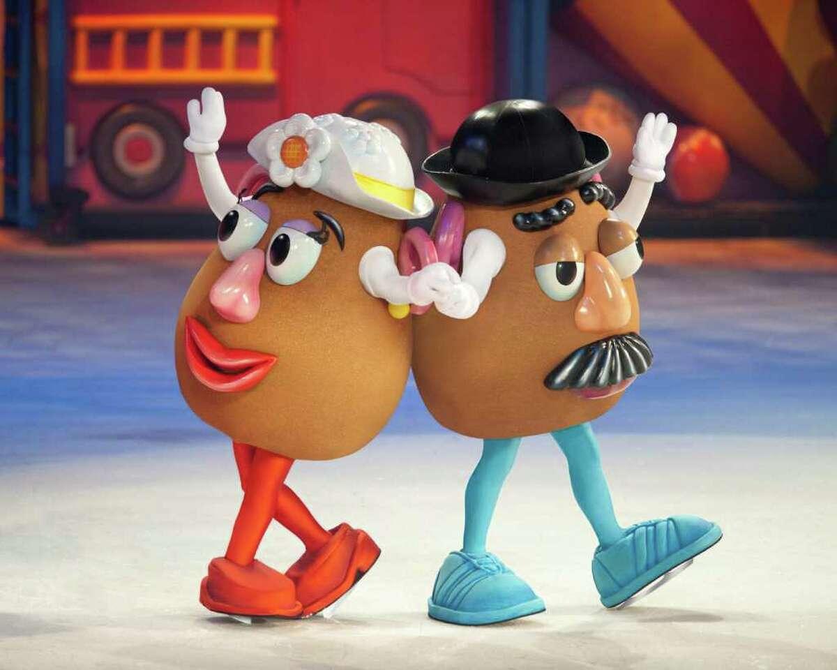 Mr and Mrs Potato Head in