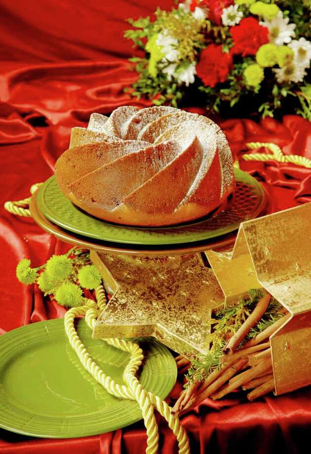 Fruit and Honey Gingerbread deserves a starring role at the holiday dessert table. (Photo by Luanne M. Ferris, Styling by Ruth Fantasia / Times Union) Photo: Luanne M. Ferris