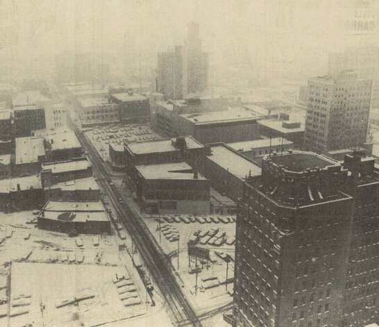 File photo of snow from January 11, 1973