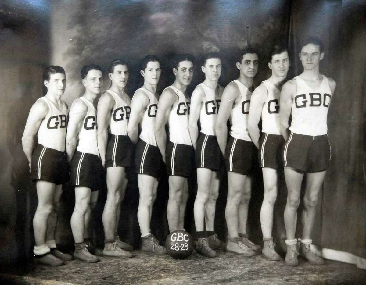 A photo of the Greenwich Boys Club basketball team from the 1928-29 season was on display during the opening of a time capsule from the 1939 cornerstone of the Boys & Girls Club of Greenwich building, which was part of centennial celebration Wednesday afternoon, Dec. 8, 2010. This photo was not part of the photos enclosed in the time capsule.