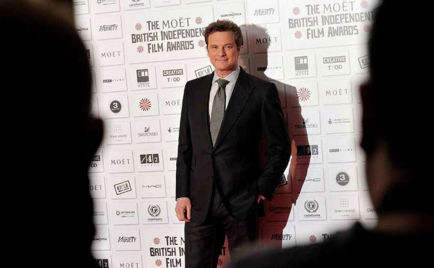 LONDON, ENGLAND - DECEMBER 05: Actor Colin Firth attends the Moet British Independent Film Awards at Old Billingsgate Market on December 5, 2010 in London, England. (Photo by Gareth Cattermole/Getty Images) *** Local Caption *** Colin Firth