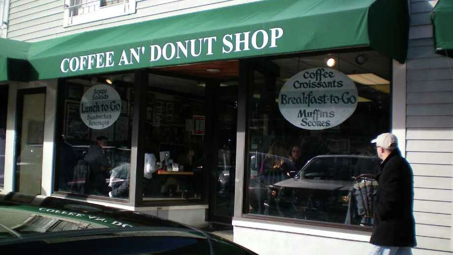 Coffee An' at 343 Main St. in Westport where there's a lunch counter and a few tables. Most of their business is to-go. Photo: Contributed Photo/Patti Woods, Contributed Photo / Westport News contributed