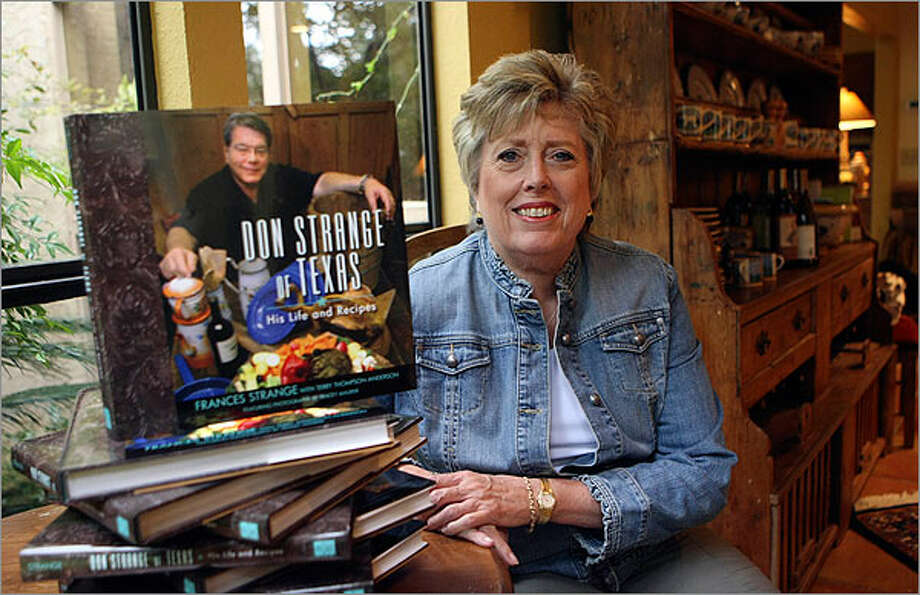 Frances Strange, widow of Don Strange of Don Strange of Texas Inc. catering company, has written a new cookbook about the life and recipes of the renowned caterer.