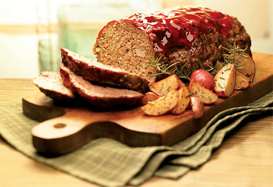 "Meatloaf is one of the popular dishes at Luby's restaurants. Its recipe is included in the ""Luby's: Recipes and memories"" cookbook without the tomato glaze."