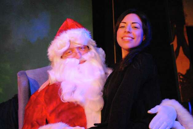 The cast of the Overtime Theater's ÏChristmastime at the OvertimeÓ includes (from left) Rob Barron and Suzanne DeMarkova. Courtesy of Scott McDowell