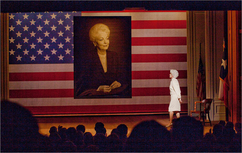 Holland Taylor presents her one-woman play about Ann Richards beginning Friday at the Charline McCombs Empire Theatre. COURTESY AVE BONAR