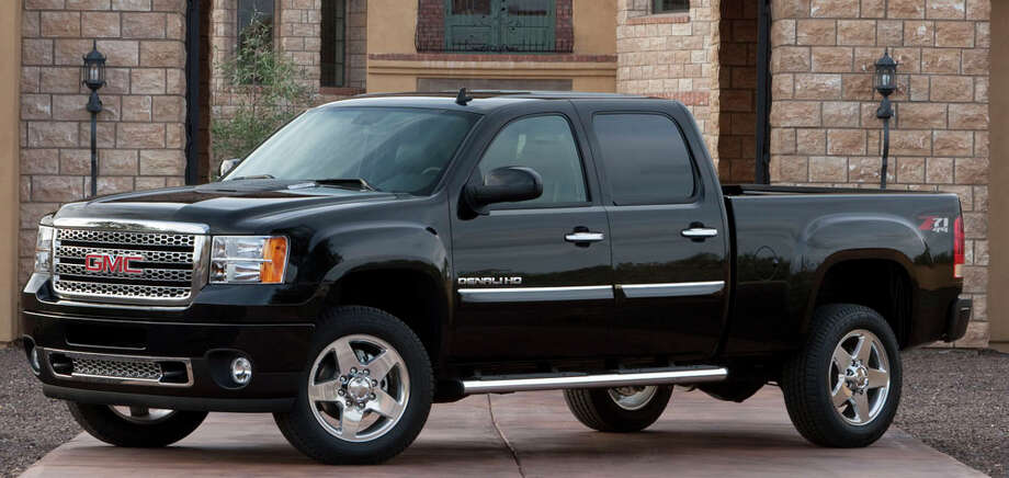 GMC has added its Denali trim level to the redesigned Sierra Heavy Duty pickup line for 2011. COURTESY GENERAL MOTORS CO. / License Agreement - Please read the following important information pertaining to this image. This GM image is protected by copy