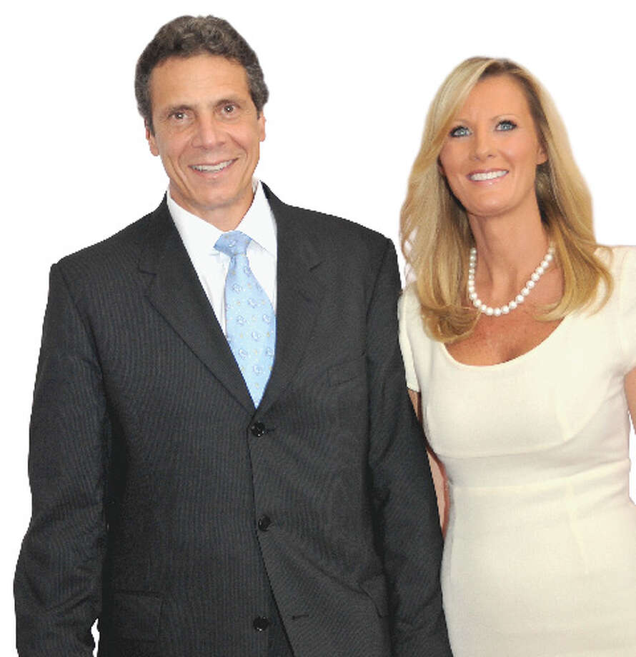 Gov.-elect Andrew Cuomo shares a domicile with Sandra Lee, a Food Network star and his girlfriend. She gets the property tax bill for the Mount Kisco property in suburban Westchester County. Photo: Corkery
