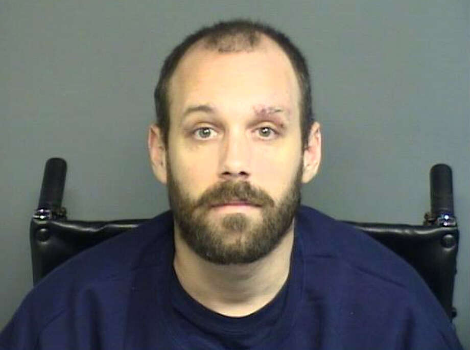 Christopher Siomelli, 30 of Stamford, has been arrested on a warrant charging him with four counts of assault in the first degree, 25 counts of risk of injury to a minor, four counts of evading responsibility and one count of operating under the influence of alcohol or drugs stemming from a incident on Nov. 16. Photo: Contributed Photo / Stamford Advocate Contributed