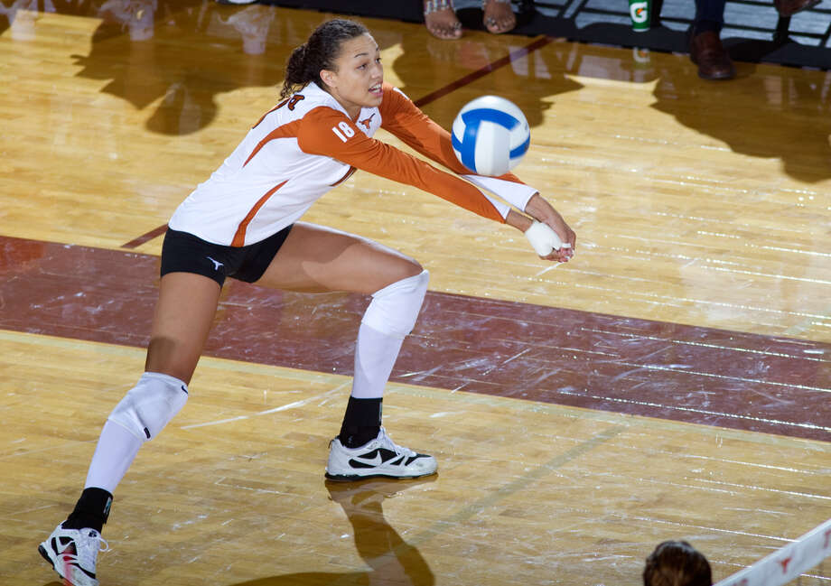 Wagner graduate Amber Roberson earned honorable mention recognition in the Big 12. Photo: COURTESY PHOTO/UNIVERSITY OF TEXAS