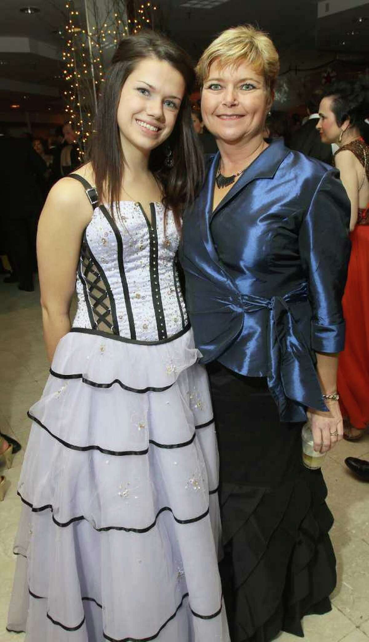 Meghan Lynch and her proud mother, Jean Lauricella. (Joe Putrock / Special to the Times Union)
