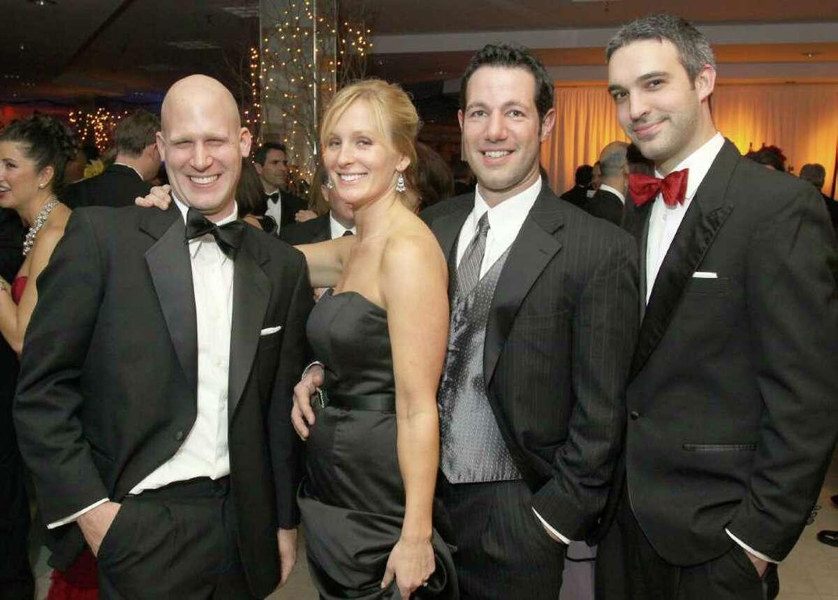 From left: John Belmont, Laura Chmielinski, Timothy Atkins and Wayne Lair Jr. (Joe Putrock / Special to the Times Union)