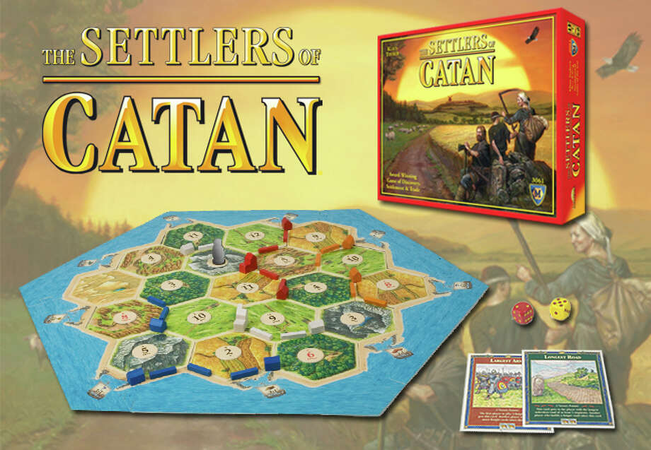The Settlers of Catan, a boardgame which came out in Germany in 1995 presents a world in which resources are limited and fortunes are intertwined, and serves as a model for solving contemporary problems such as trade imbalances, nuclear proliferation and climate change. credit Catan Inc./Mayfair Games Inc / DirectToArchive