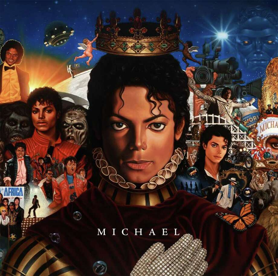 "In this CD cover image released by Epic Records, newly completed recordings from Michael Jackson entitled ""Michael,"" is shown. The CD will be released on Dec.14. (AP Photo/Epic Records) Photo: Anonymous, HO / Epic Records"