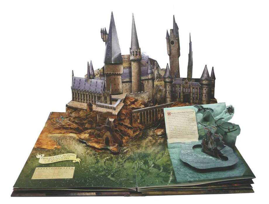 Harry Potter Pop-Up Book, by Bruce Foster, $34.95 Product Details Reading level: Ages 4-8 Hardcover: 12 pages Publisher: Insight Editions; Pop edition (November 16, 2010) Language: English ISBN-10: 1608870081 ISBN-13: 978-1608870080 / DirectToArchive