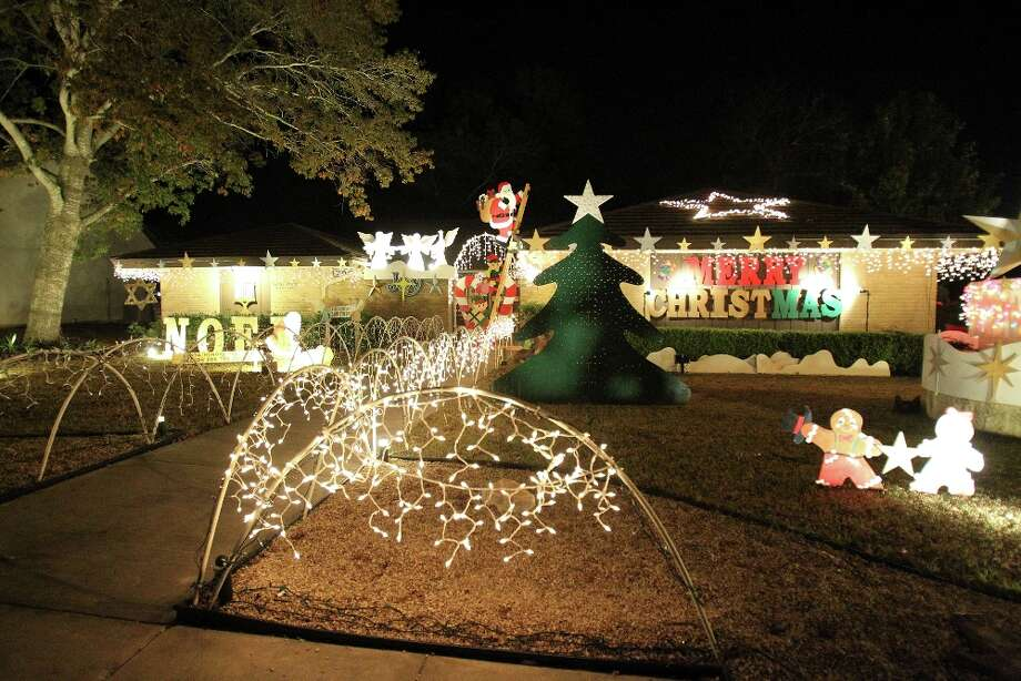 The home at 702 Balfour Drive is one of many festive Christmas displays in Windcrest. JENNIFER WHITNEY/SPECIAL TO THE EXPRESS-NEWS