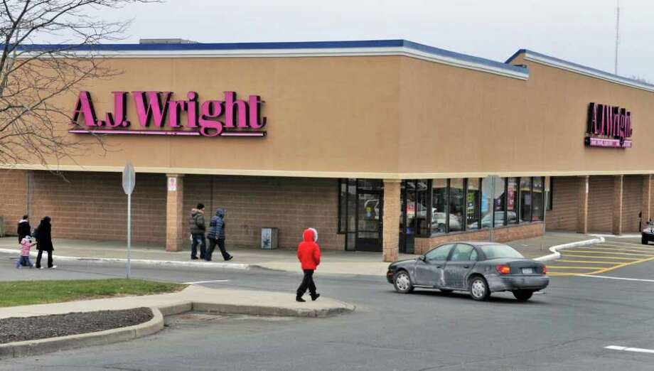 Exterior of the A.J. Wright store at Hudson Valley Plaza in Troy Friday afternoon December 10, 2010.  (John Carl D'Annibale / Times Union) Photo: John Carl D'Annibale