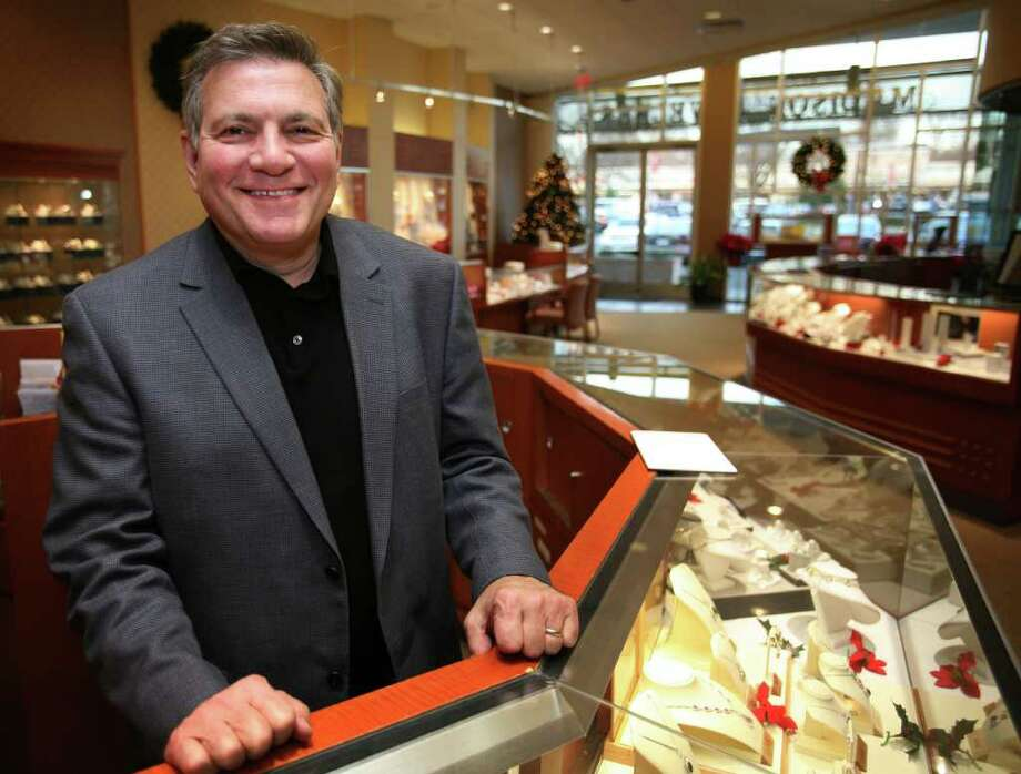 Ernie Piscitelli, president of Madison Jewelers, LLC at 2261 Black Rock Turnpike in Fairfield, reopened the business in August. Photo: Brian A. Pounds / Connecticut Post