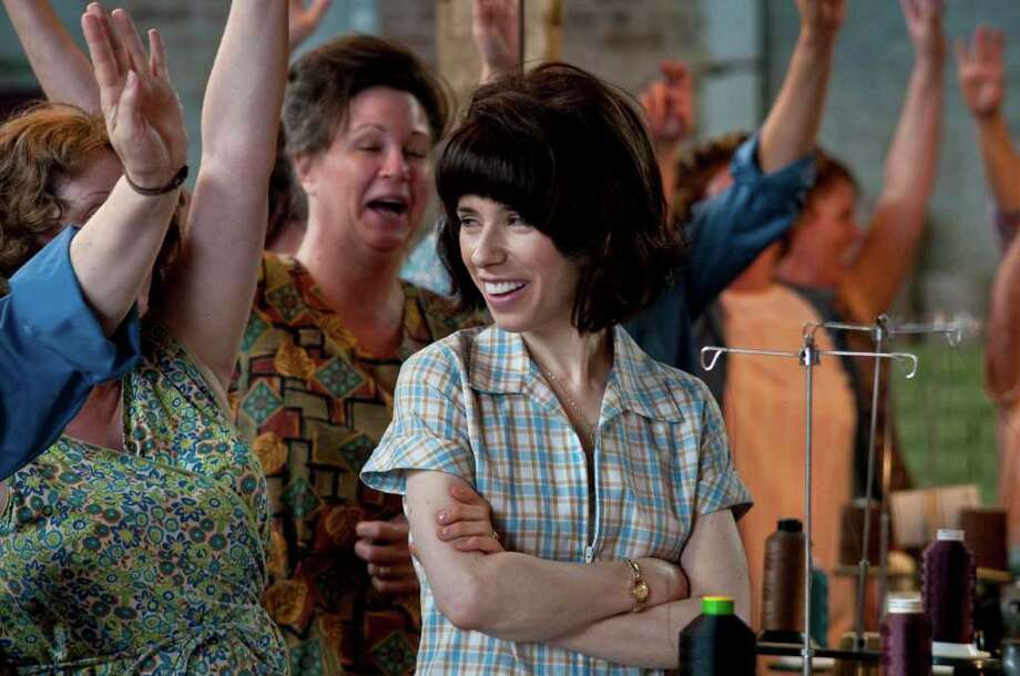 "Sally Hawkins stars as an unlikely 1968 feminist leader in ""Made in Dagenham,"" a new British film that opened in Connecticut Friday. Photo: Contributed Photo / Connecticut Post Contributed"