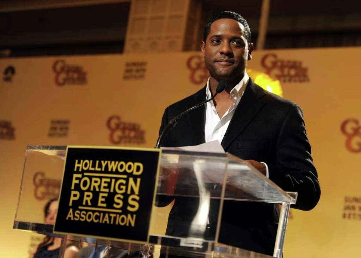 BEVERLY HILLS, CA - DECEMBER 14: Actor Blair Underwood speaks onstage during the 68th Annual Golden Globe Awards nomination announcement held at the Beverly Hilton Hotel on December 14, 2010 in Beverly Hills, California. (Photo by Kevin Winter/Getty Images) *** Local Caption *** Blair Underwood