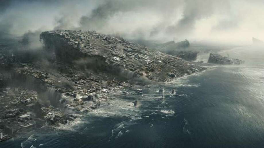 """A scene from Columbia Pictures' """"2012,"""" which was released in November. The film used special effects to depict the Apocalypse. Photo: / Columbia Pictures"""