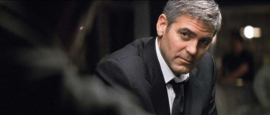 """George Clooney played the ethically challenged title character in the 2007 film """"Michael Clayton,"""" which won an Academy Award for co-star Tilda Swinton as Best Supporting Actress and nominations for the film as Best Picture and for Clooney as Best Actor. Photo: / Warner Brothers"""