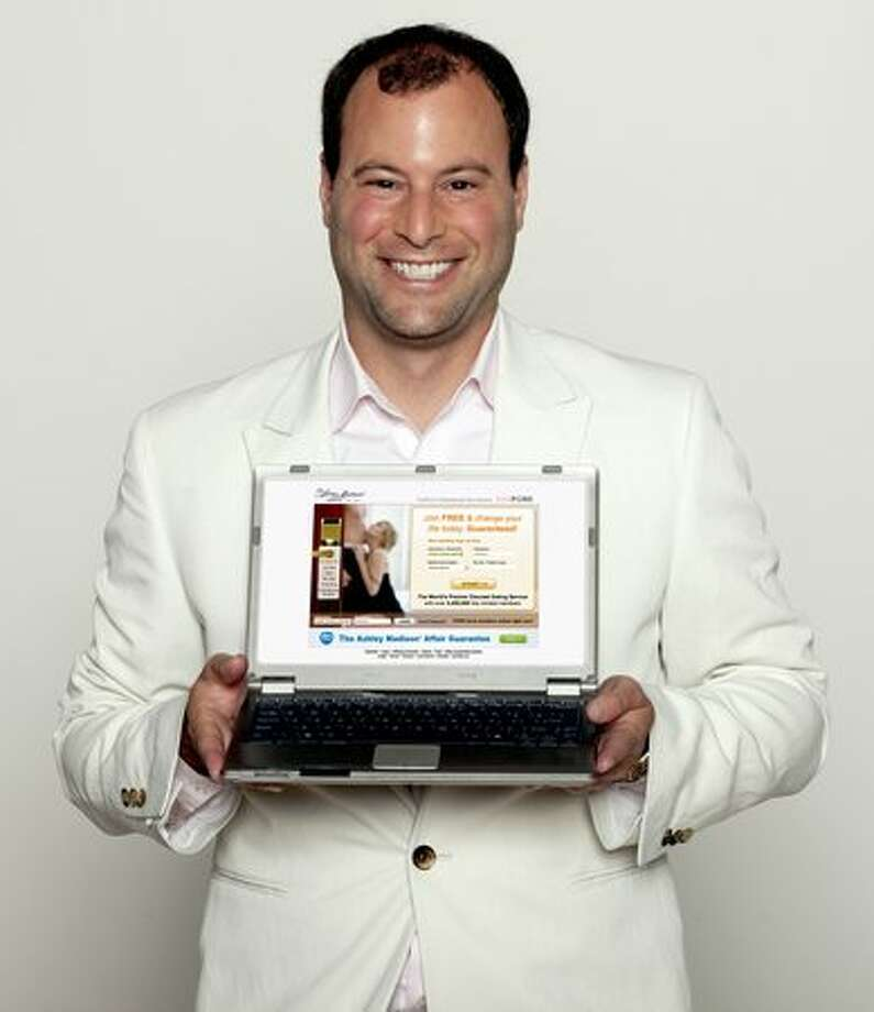 Noel Biderman, CEO of AshleyMadison.com. (courtesy Zucker Media Group) Photo: /