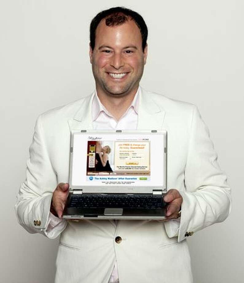 Noel Biderman, CEO of AshleyMadison.com. (courtesy Zucker Media Group) Photo: /