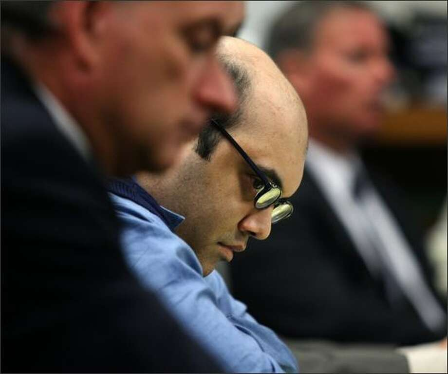 Naveed Haq listens to testimony in this May 2008 file photo. Photo: Dan DeLong/Seattle Post-Intelligencer