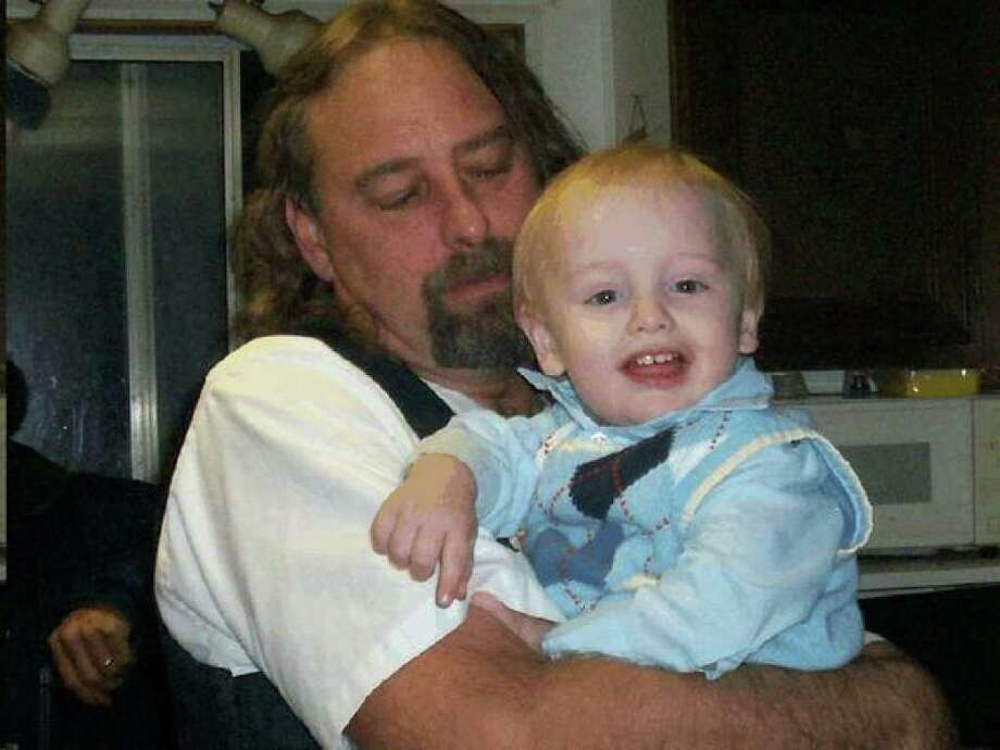 Gary Clezie and his son Tanner. Photo: / Family Photo