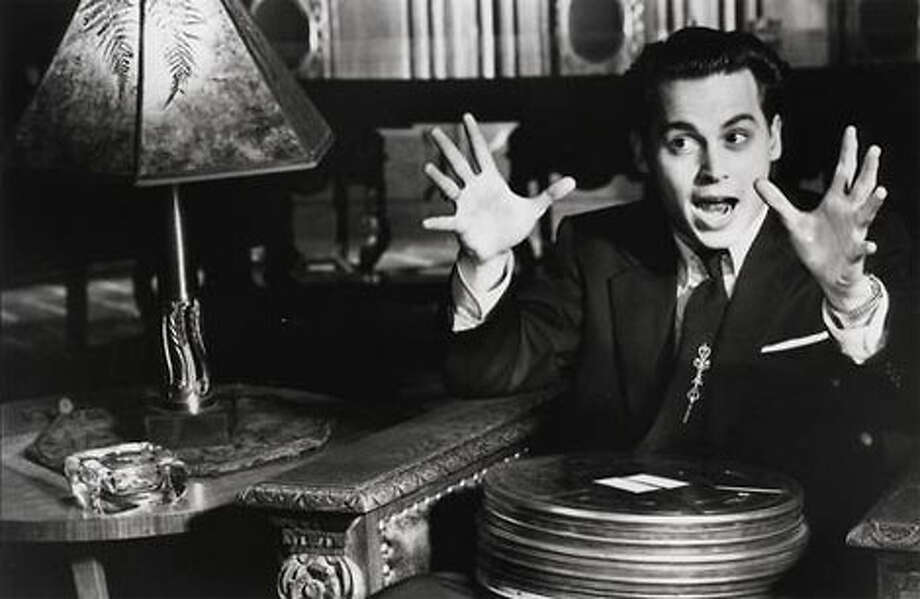 """Johnny Depp played the hapless filmmaker in """"Ed Wood."""""""