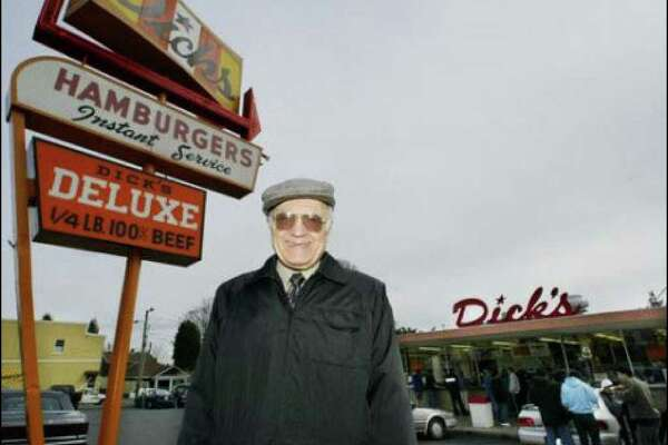 Dick's co-founder Dick Spady at the Wallingford location in 2003.