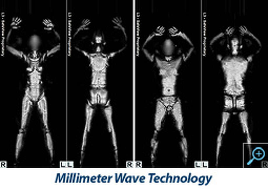 This is an example of an image produced by the millimeter wave technology.