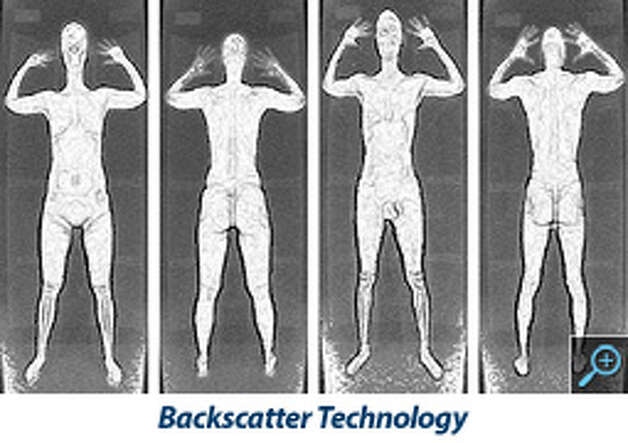 This is an example of an image produced by the backscatter technology.