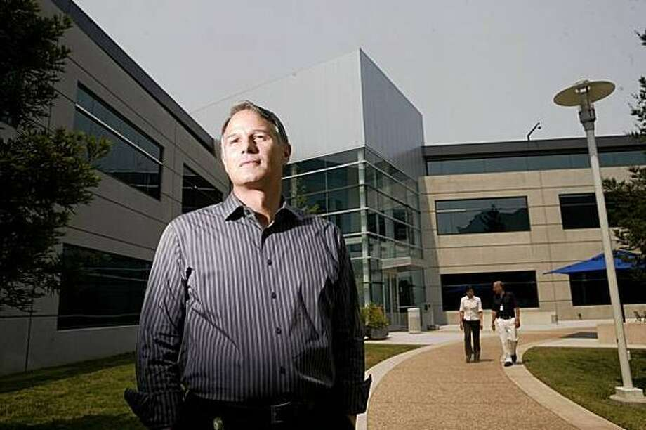 Silicon Valley insider Dan'l Lewin, who was hired by Microsoft in 2001 to promote its online services, says the company is more approachable now. He is shown at Microsoft's Mountain View, Calif., campus. Photo: Mike Kepka/San Francisco Chronicle