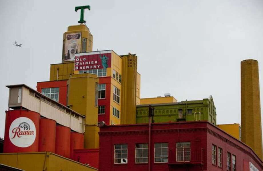 The Tully's building and former Rainier Brewery shown in Seattle's SODO neighborhood on Tuesday March 2, 2010. Photo: Joshua Trujillo/seattlepi.com