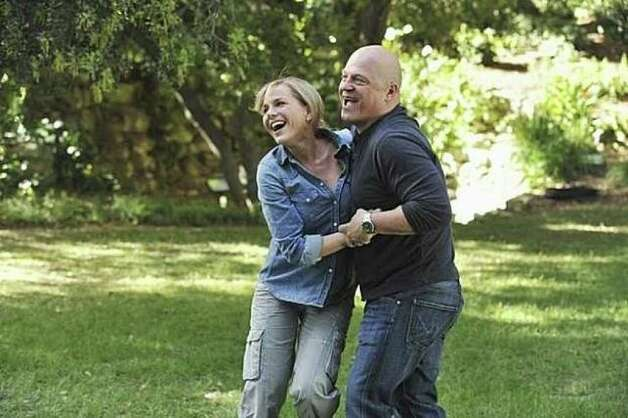 "Jim (Michael Chiklis, ""The Shield"") and his wife, Stephanie, (Julie Benz, ""Dexter"") gain super powers on a trip to the Amazon in ABC's ""No Ordinary Family."" Photo: / ABC"