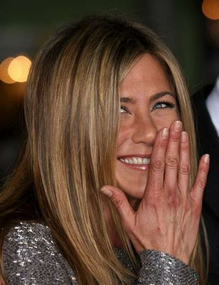 "Actress Jennifer Aniston attends the ""Love Happens"" film premiere at Mann's Village Theatre in Los Angeles on Tuesday night. (Photo by Frederick M. Brown/Getty Images) Photo: / Getty Images"