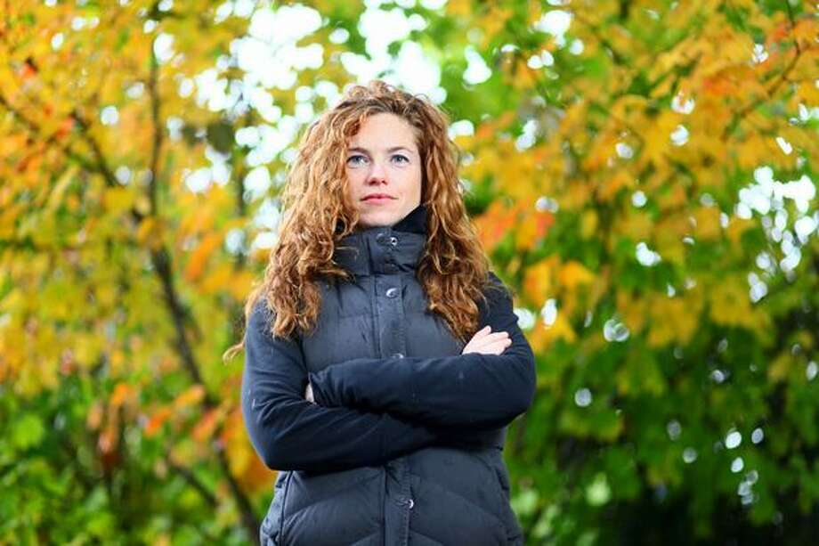 Musician Rachel Flotard photographed in Seattle on Friday, Oct. 16, 2009. Photo: Joshua Trujillo/seattlepi.com